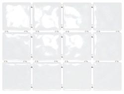1236 Бриз белый, полотно 30х40 из 12 частей 9,9х9,9