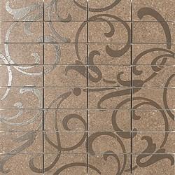 DP168\014 Декор Фьорд табачный мозаичный