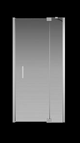 Душевая дверь Creto Tenta 123-WTW-100-C-CH-8 стекло прозрачное EASY CLEAN, профиль хром,100х200 см