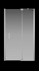 Душевая дверь Creto Tenta 123-WTW-120-C-CH-8 стекло прозрачное EASY CLEAN, профиль хром, 120х200 см