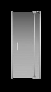 Душевая дверь Creto Tenta 123-WTW-90-C-CH-8 стекло прозрачное EASY CLEAN профиль хром, 90х200 см