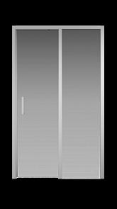 Душевая дверь Creto Nota 122-WTW-120-C-CH-6 стекло прозрачное EASY CLEAN профиль хром, 120х200 см