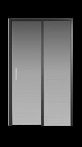 Душевая дверь Creto Nota 122-WTW-120-C-B-6 стекло прозрачное EASY CLEAN профиль черный, 120х200 см