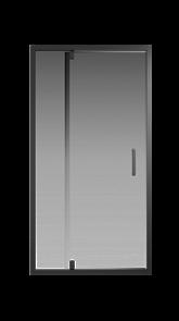 Душевая дверь Creto Astra 121-WTW-100-C-B-6 стекло прозрачное профиль черный, 100х195 см