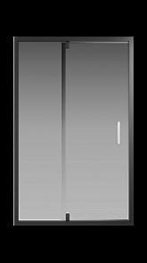 Душевая дверь Creto Astra 121-WTW-120-C-B-6 стекло прозрачное профиль черный, 120х195 см
