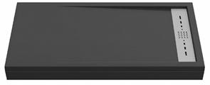 Душевой поддон Creto Scala 100x80, черный