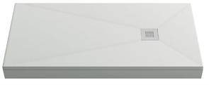 Душевой поддон Creto Ares 100x80, белый