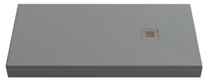 Душевой поддон Creto Ares 100x90, серый