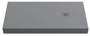 Душевой поддон Creto Ares 100x70, серый