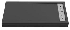 Душевой поддон Creto Scala 100x90, черный