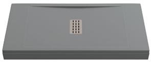 Душевой поддон Creto Etna 100x80, серый