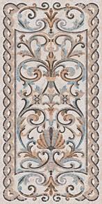 SG590802R Мозаика беж декорированный лаппатированный 119,5х238,5