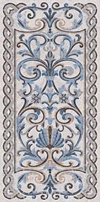 SG590902R Мозаика синий декорированный лаппатированный 119,5х238,5