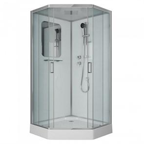 Душевая кабина Niagara Premium NG-6002-01D 100х100х220 стекло прозрачное