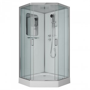 Душевая кабина Niagara Premium NG-6001-01D 90х90х220 стекло прозрачное