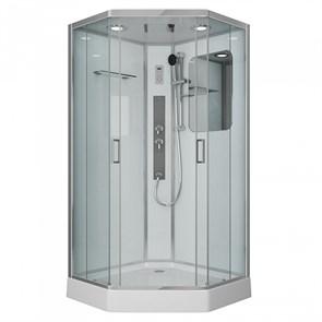 Душевая кабина Niagara Premium NG-6002-01GD 100х100х220 стекло прозрачное