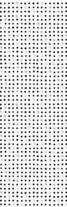 Декор Meissen Вставка Trendy точки черный 25х75