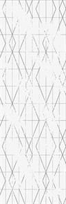 Декор Meissen Вставка Trendy геометрия белый 25х75