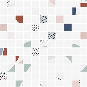 Мозаика Meissen Вставка Trendy мозаика арт многоцветный 30х30