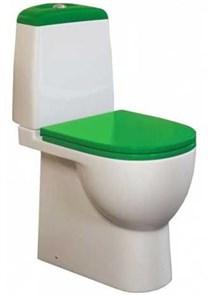 Унитаз-компакт Sanita luxe Best Color сиденье дюропласт soft close зеленое