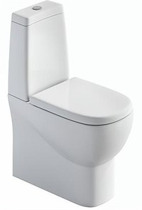 Унитаз-компакт Sanita luxe Infinity сиденьем дюропласт soft close