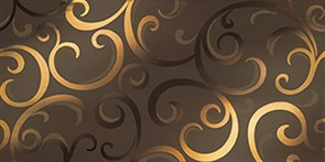 MARK MOKA GOLD DAMASK, 40x80