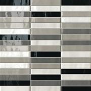 MANHATTAN TRATTI GRIGI MOSAICO, 30x30