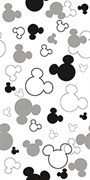 DISNEY EARS R3060 BLACK, 30x60
