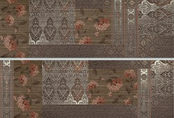 Декор керамич. DECOR PATCHWORK MARRON (SET2)