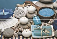 Deco Soap Blue Brillo Панно комплект из 2 плиток