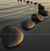 Zen Deco Панно комплект из 3 плиток
