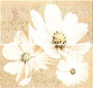 Sfumato Beige Floret Панно из 2 плиток
