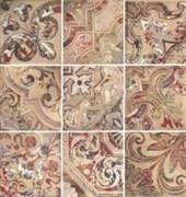 Baru Habu Beige Комплект декоров из 9 плиток