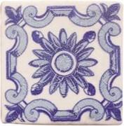 Provenza Blanco Dec. Flor Azul