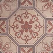 Декор GT-183/d01 коричневый 40*40