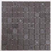 Мозаика Bengal Black GT-173-m02/gr 30*30