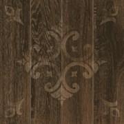 Декор GT-262/d01 темно-коричневый 40*40