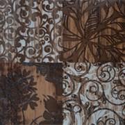 Декор Veneer Dark Brown GT-192-d01/gr 40*40