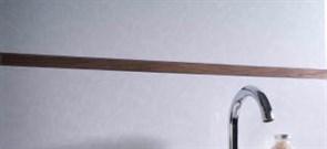 Бордюр B72141306 PRO-TELO W CAOBA 15X12,5 LATON CROMADO