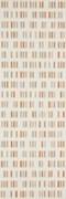 Декор Colourline Ivory/Taupe/Orange Decoro MLEP 22*66.2