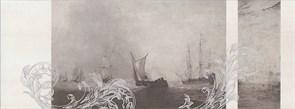 Декор Ньюпорт Корабли коричневый