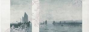 Декор Ньюпорт Корабли зеленый