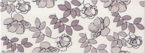 Декор Ньюпорт Цветы фиолетовый