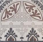Panga Бордюр напольный White-Antracite K083762 30x30