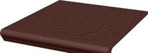 Natural Brown Ступень простая с носиком структурированная