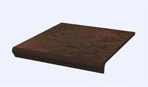 ASemir Brown Ступень простая с носиком структурированная