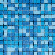 LV-MG512 мозаика микс голубой (2х2) 32,7х32,7