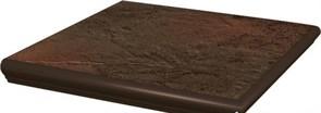 Semir Brown Ступень угловая с носиком структуриррованная