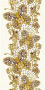 Лэйс Декор 08-03-15-590-0 20х40 Нефрит-керамика купить