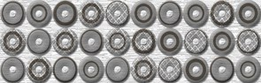 Шелк серый /83-03-06-038-0/ /76-02-02-38/ Бордюр 25х8 Нефрит-керамика купить